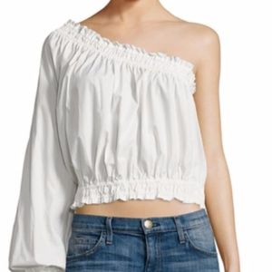 New Free People Anabelle One Shoulder Top Large